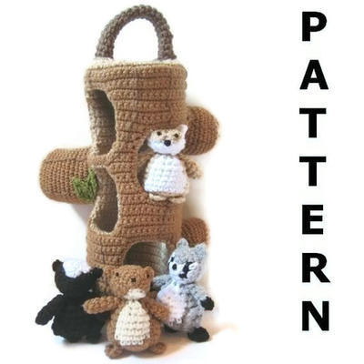 Woodland Creatures Crochet Pattern