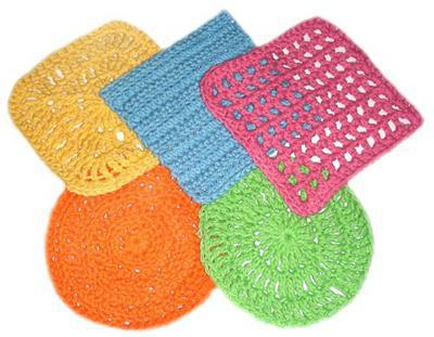 5 Absolutely Fast Dishcloths