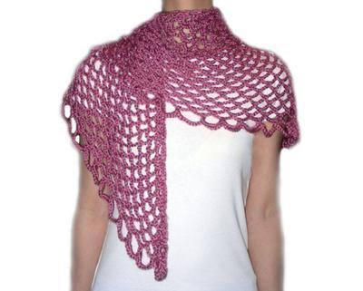 Angel Lace Scarf