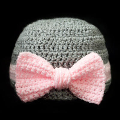 Big Bow Beanie (5 Sizes)