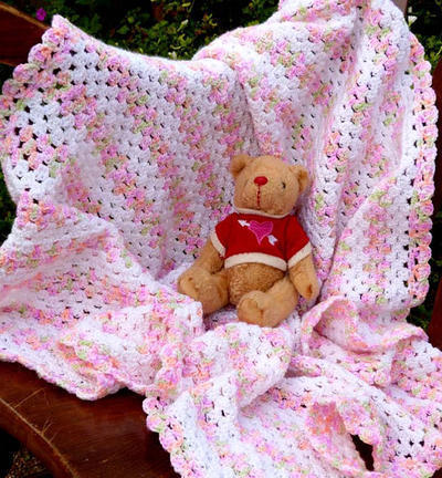 Candy Colors Baby Blanket
