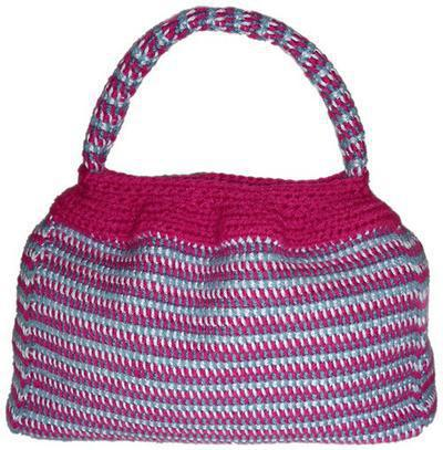 Carry-A-Lot Tunisian Purse