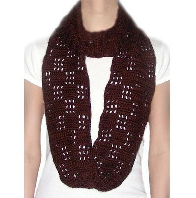 Checkered Loop Scarf