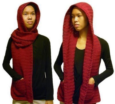 Hooded Scarf (3 sizes)