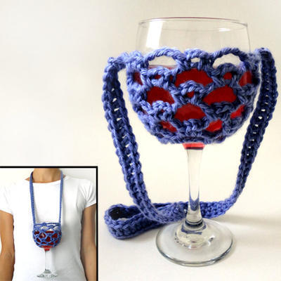 Lanyard Wine Glass Holder