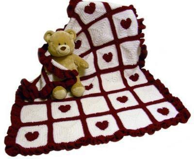 Lovable Heart Blanket