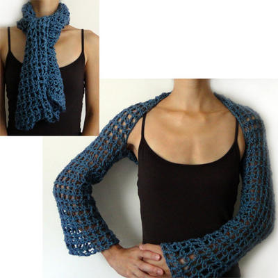 Lover's Knot Convertible Shrug