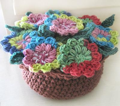 Potpourri Flower Pot