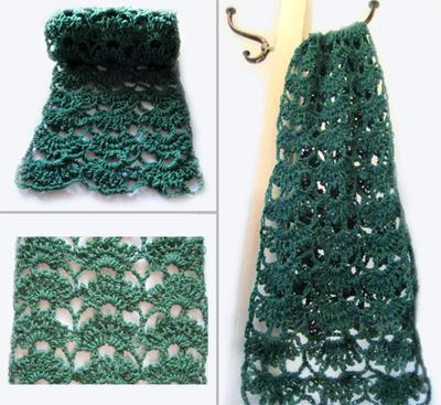 Spring's Here Lace Scarf