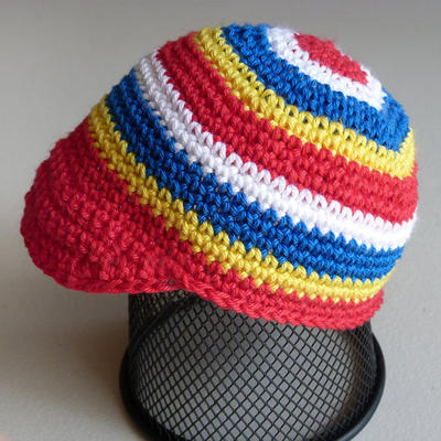 Striped Cap (6 Sizes)
