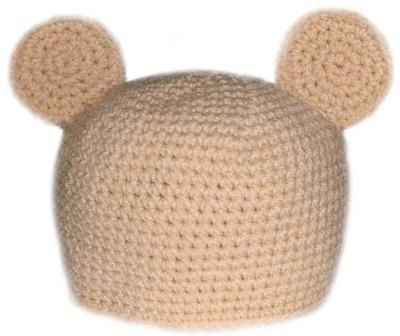 Teddy Bear Hat (5 Sizes)