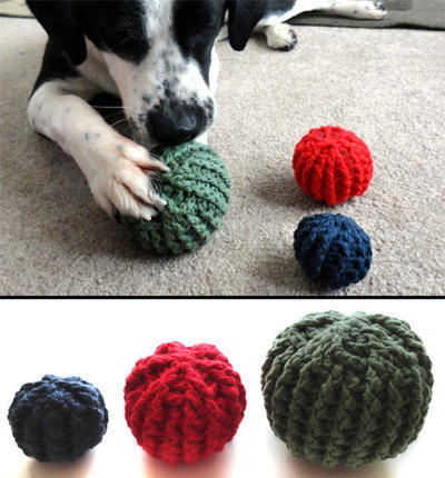 Textured Ball Dog Toys