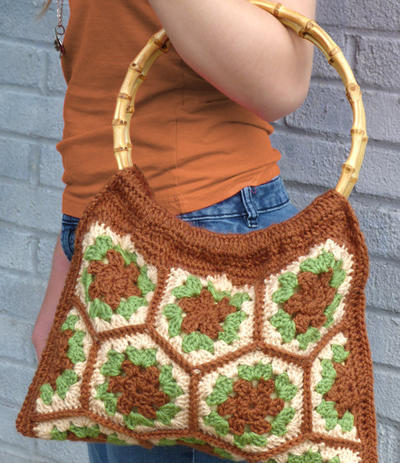 Verdant Hexagon Bag