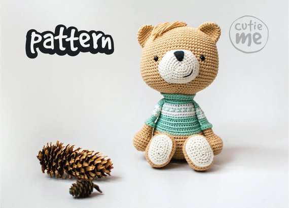 PATTERN Andy the Bear
