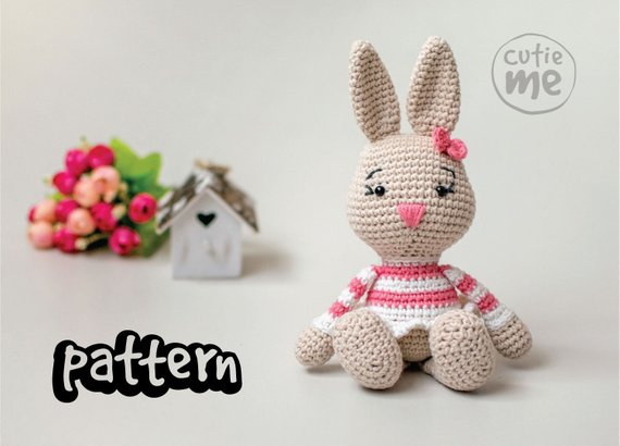 PATTERN Lilou the Bunny Crochet Pattern