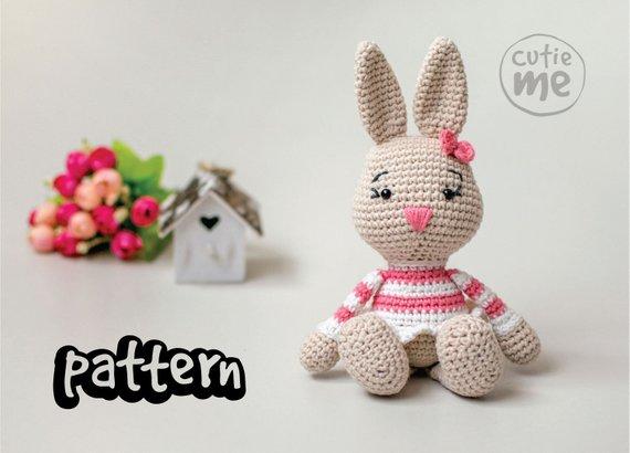 PATTERN Lilou the Bunny Crochet Pattern