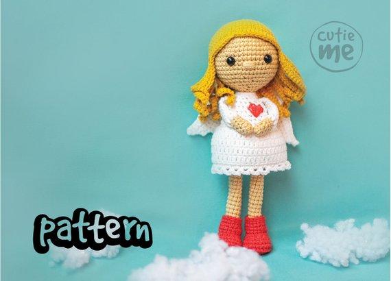 PATTERN Little Angel Crochet Pattern.