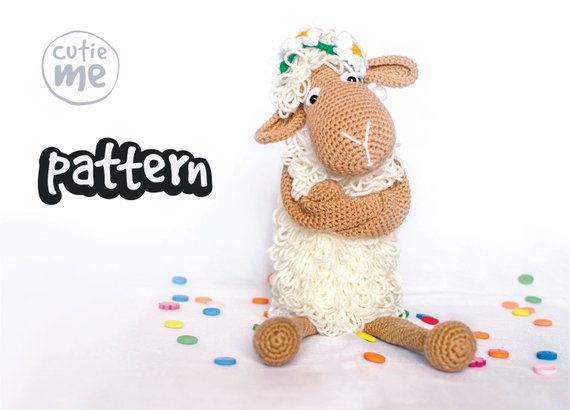 PATTERN Mirosya the Sheep Crochet Pattern