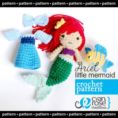 Little Mermaid Amigurumi