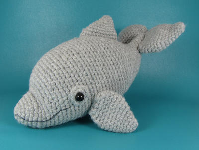 Dolphin - PDF amigurumi crochet pattern