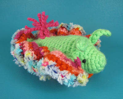 Sea Slug - PDF amigurumi crochet pattern