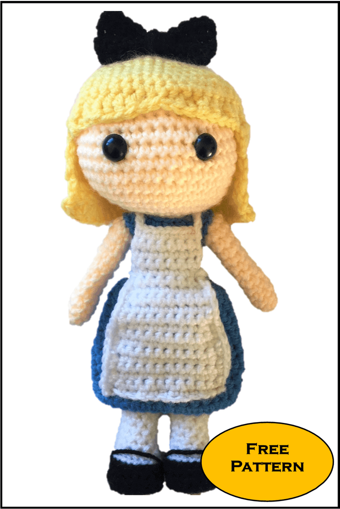 Alice in wonderland crochet pattern