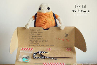 "DIY Amigurumi Kit ""Minus"""