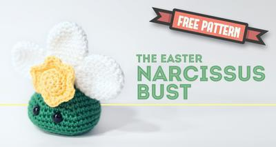 Easter Narcissus Bust