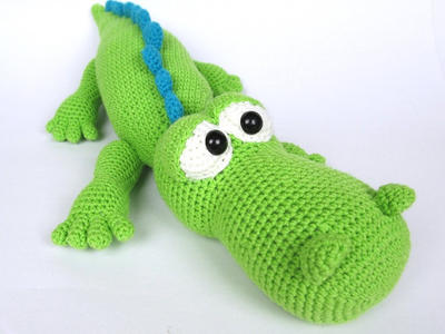 Alfred The Crocodile -Amigurumi Crochet