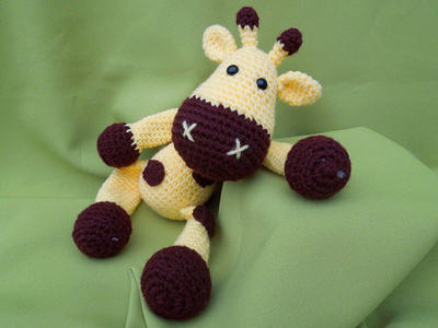 Cute Giraffe Sofie Crochet Pattern / PDF e-Book