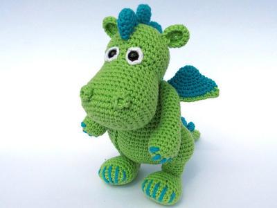 Dragón Draco - Amigurumi Crochet / PDF e-Book
