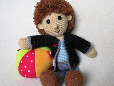 Johny the Little Boy - Amigurumi Crochet Pattern / PDF e-Book / Stuffed Animal Tutorial