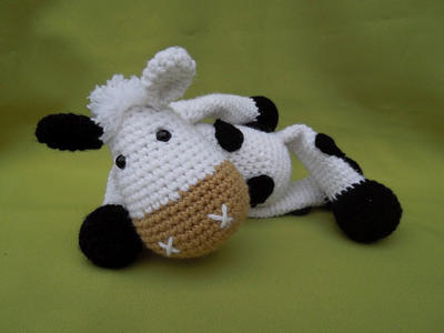 My Friend Cow Matylda - Amigurumi Crochet Pattern / PDF e-Book / Stuffed Animal Tutorial