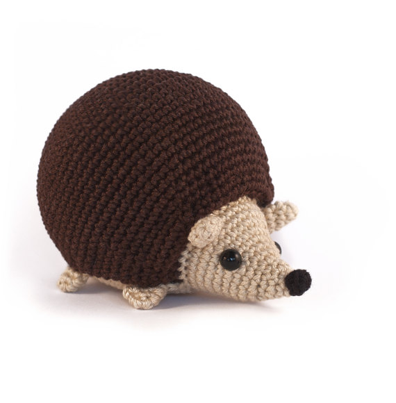 Amigurumi Pattern Hedgehog Crochet PDF