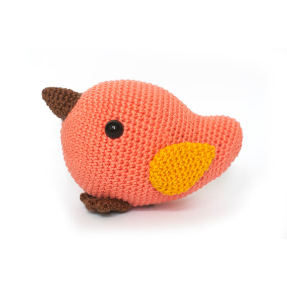 Crochet Pattern Bird amigurumi PDF