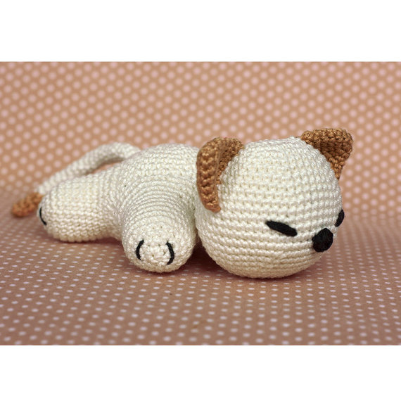 Crochet Pattern cute Kitty Cat amigurumi PDF