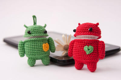 Robot Android - crochet pattern