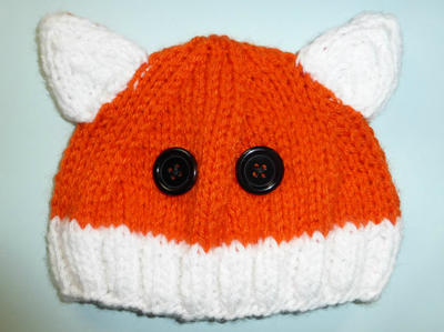 Foxy Hat Knitting Pattern