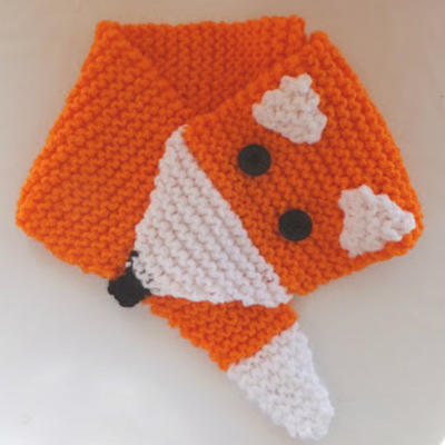 Foxy Scarf Knitting Pattern