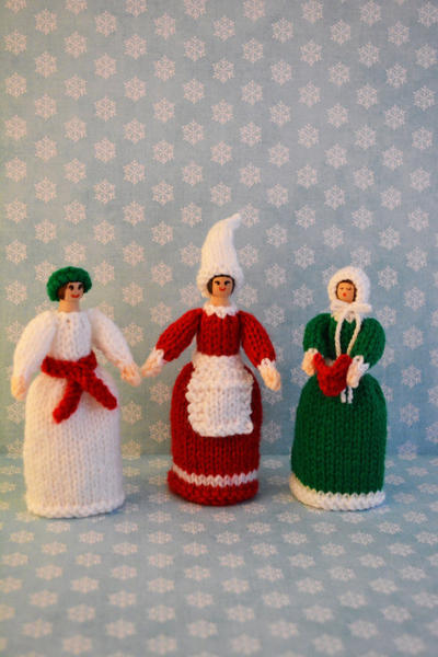 Knitted Doll/ Toy Knitting Pattern