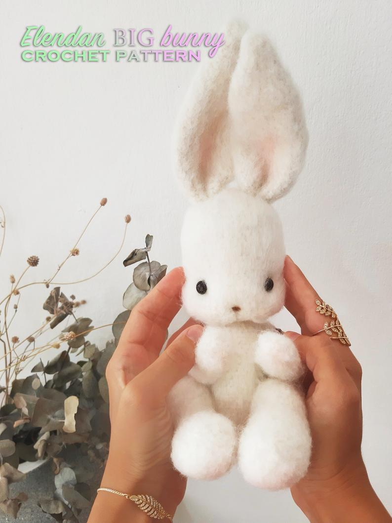 Big bunny crochet pattern