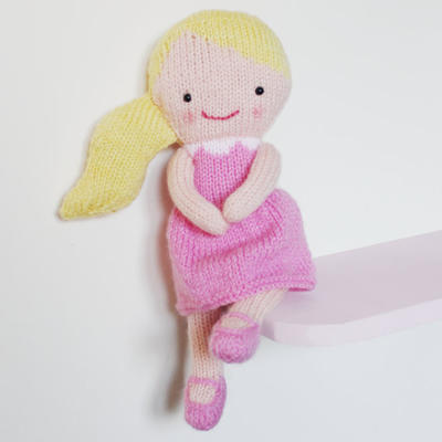 Misterpattern Doll Knitting Pattern Toy Rag Doll Pattern Pdf