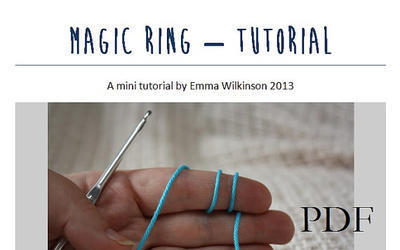 Magic ring mini tutorial