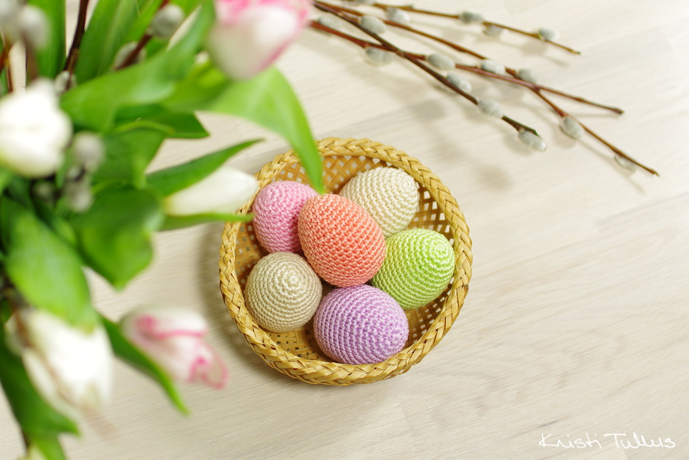 Easter Crochet Eggs