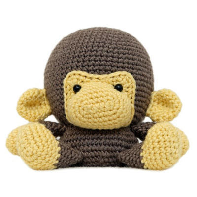 Fat Face Monkey Amigurumi Pattern