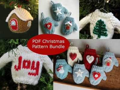 Christmas Ornament Pattern Bundle