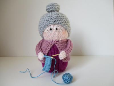 Granny toy doll knitting patterns