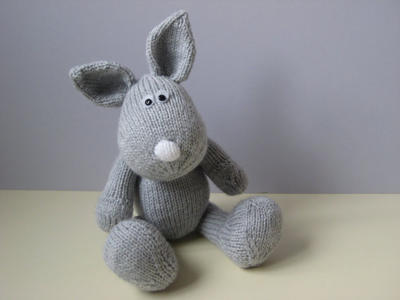 Henry Rabbit toy knitting patterns
