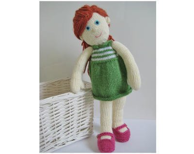 Lily Doll toy knitting pattern