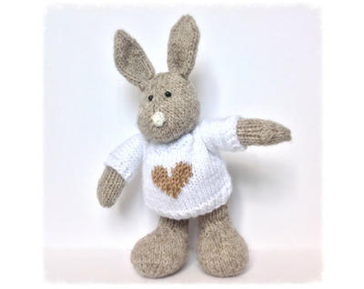 Pip the Bunny toy knitting patterns